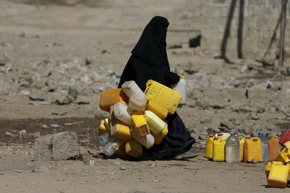 world water day Yemen March 2016