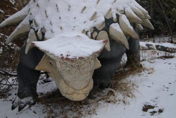 Calgary Zoo Animatronic dinosaur
