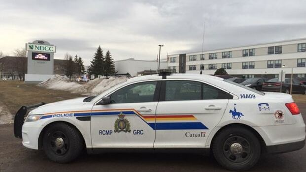 Several Codiac Regional RCMP officers responded to NBCC's Moncton campus on Thursday morning around 8:20 a.m.