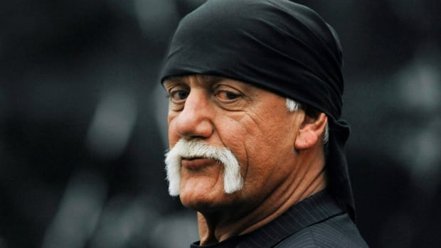 Testimony continued for a ninth day in the Hulk Hogan sex tape trial in a St. Petersburg, Fla. courtroom Thursday, with lawyers for Gawker showing the former wrestler a video of him wearing skimpy underwear and parodying the Miley Cyrus Wrecking Ball video. Closing arguments are set for Friday.