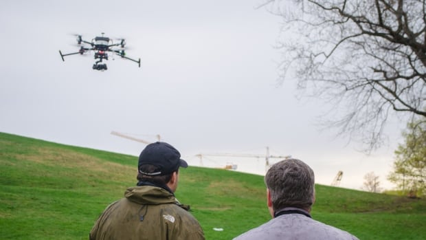 Mark Langille a partner at flitelab in Halifax says some recreational drone users are breaking the rules and using their machines to make money.