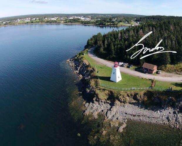 Warren Gordon drone photo