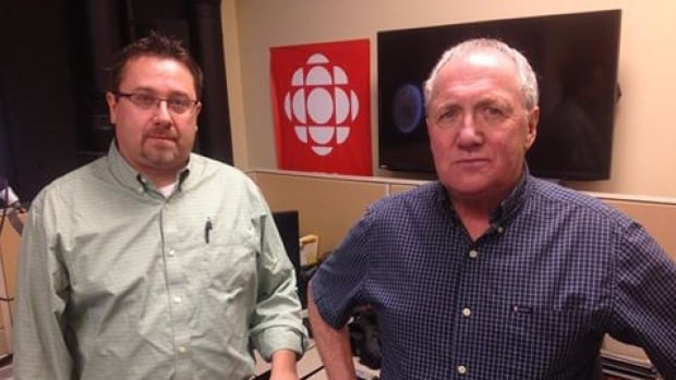 Ed Mercer and Brian Tucker are not impressed with the impending closure of the Grenfell campus swimming pool.
