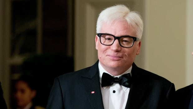Mike Myers arrives for the state dinner at the White House, held in honour of Canadian Prime Minister Justin Trudeau, on March 10.