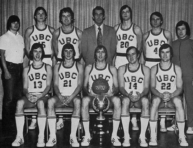 UBC 1972 men's basketball team