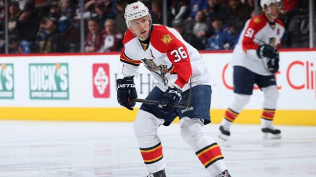 Jussi Jokinen scored twice to lead the Panthers to a 4-1 win over the Maple Leafs in Toronto on Thursday night, further solidifying their Atlantic Division lead.