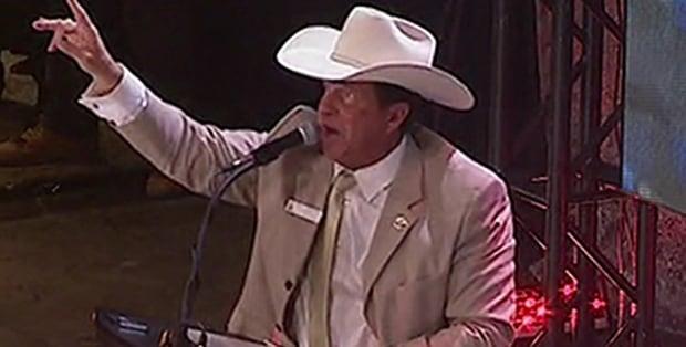 Calgary Stampede annual chuckwagon canvas auction