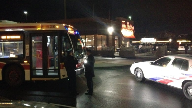 man hijacks ttc bus to tim hortons