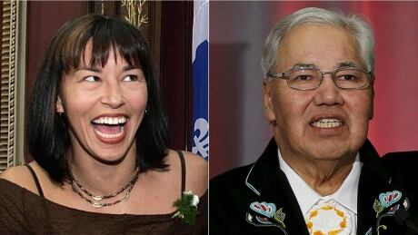 Chantal Petitclerc and Murray Sinclair composite