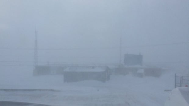High winds and blowing snow on St. Patrick's Day brought on the third blizzard in two weeks in Iqaluit.