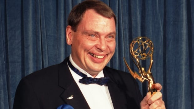 Larry Drake is seen in 1988 holding the Emmy he won for best supporting actor in a drama series for his role on L.A. Law. The actor, who earned back-to-back Emmys for his portrayal of Benny Stulwicz, was found dead in his Los Angeles-area home on Thursday.