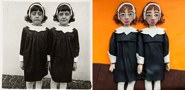 Identical Twins, Roselle, NJ Diane Arbus