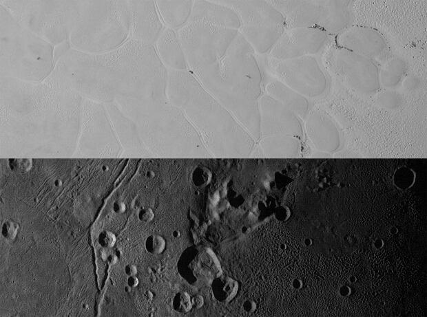Pluto surface diversity