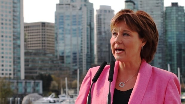 B.C. Premier Christy Clark promises to crack down on the real estate practice of 'shadow flipping.'