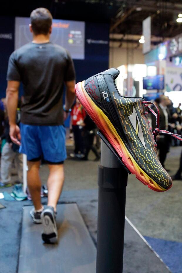 Altra IQ shoe iFit technology