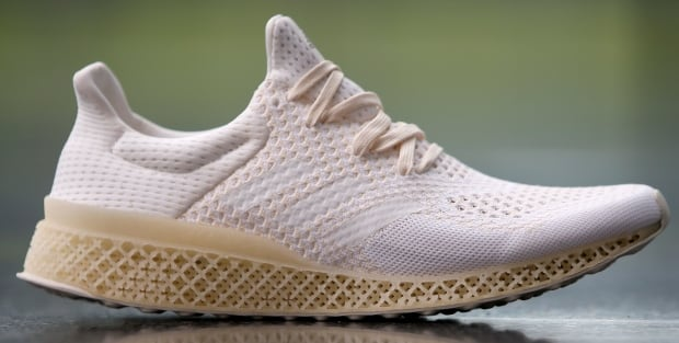 ADIDAS 3D printed shoe technology