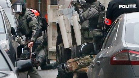 FRANCE SHOOTING BRUSSELS RAID