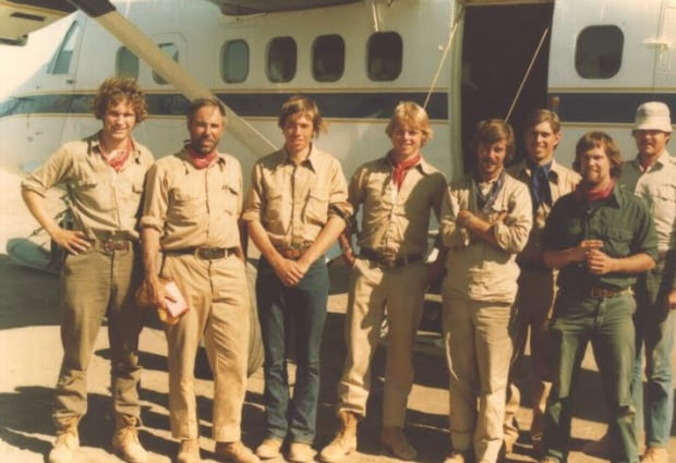 1977 Coppermine expedition Prince Andrew