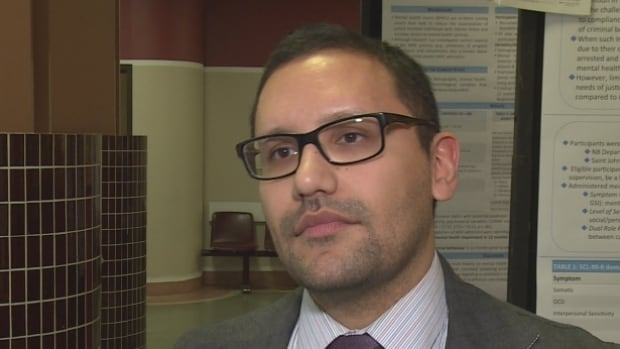 Report co-author Donaldo Canales says the current lack of a mental health court in Saint John is sad to behold.