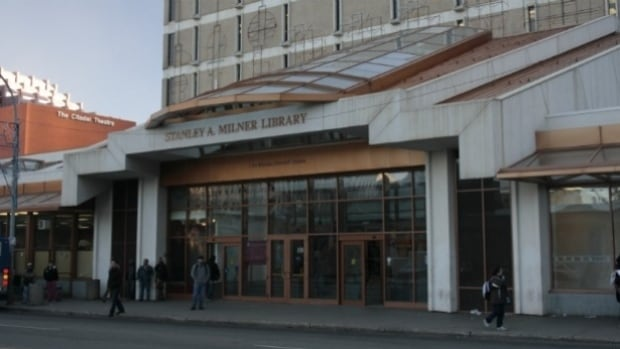Internet filters are not in place at Edmonton public libraries.