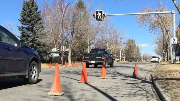 A recent Calgary pilot project found roads that are less wide can drop motorist speeds by 14 km/h on average.