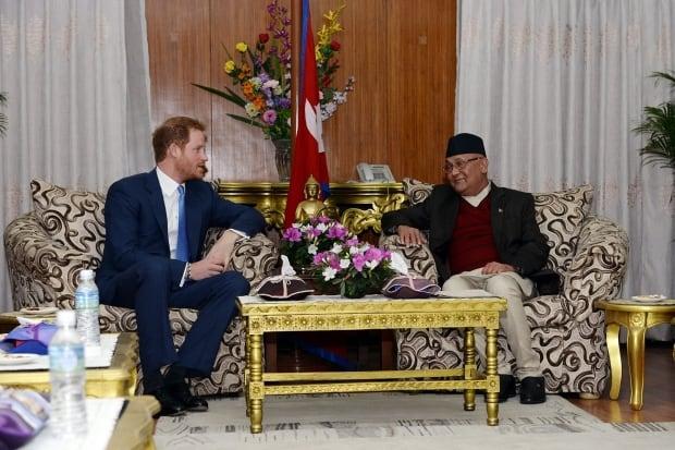 Nepal Prince Harry