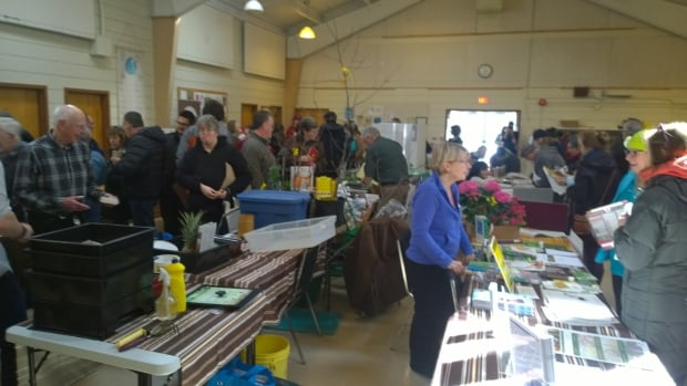 Vendors at the Bring on Spring Sustainable Garden Expo sold seeds, soils and knowledge at the annual event hosted by the NB Community Harvest Gardens
