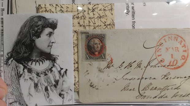 Collectible stamp mail