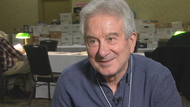 "Philatelist Luciano Bassetto says collecting and studying stamps and postal history gives him ""energy."""