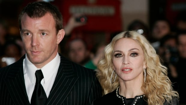 British director Guy Ritchie and pop star Madonna are seen in 2008. The former couple is currently battling over custody of their 15-year-old son Rocco.