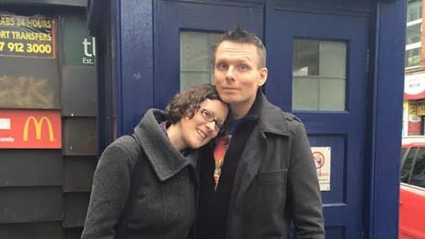 Erika Ensign and Steven Schapansky met and fell in love through their mutual obsession with the classic sci-fi series Doctor Who.