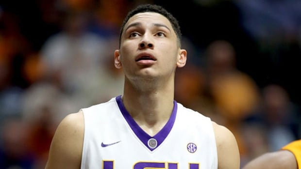 Ben Simmons has been widely projected as a top overall pick in this year's NBA draft.
