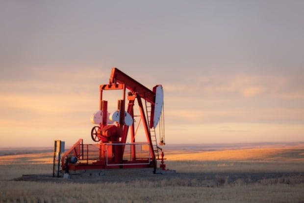 Gas pump jack Alberta