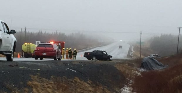 Collision, Long Harbour exit TCH