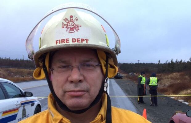 Gary Rideout, Norman's Cove fire chief