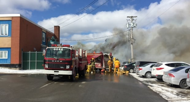 Fire at Hants North Rural High and Kennetcook District School
