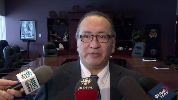Saskatoon Tribal Council Chief Felix Thomas wants more First Nations people to vote.