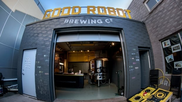 Good Robot Brewing had to nix a promotion that involved condoms featuring the company logo.