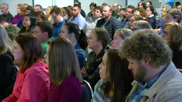 Dozens of parents showed up to a meeting in Calgary Monday night to discuss the new LGBTQ guidelines for schools.