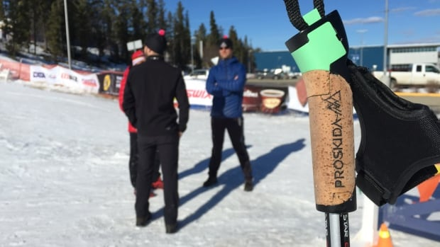 Yukon based startup company Proskida has designed cross country ski pole grips with embedded technology that can track an athlete's power and efficiency. The company is meeting with coaches and elite skiers this week in Whitehorse at the Haywood Ski Nationals.