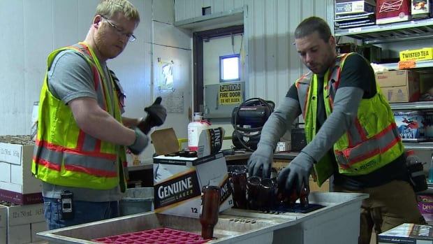 Every year, thousands of expired bottles and cans of beer are poured down the drain at the Yukon Liquor Corporation warehouse in Whitehorse.