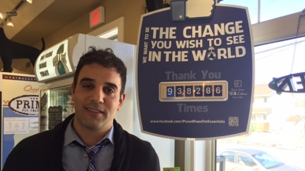 Rodney Habib is the owner of the small pet food store Planet Paws Pet Essentials, which has almost reached 1 million 'likes' on Facebook.