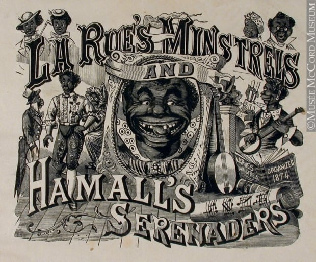 La Rue's Minstrels and Hamall's Serenaders