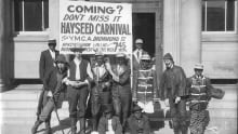 YMCA Hayseed Carnival Blackface