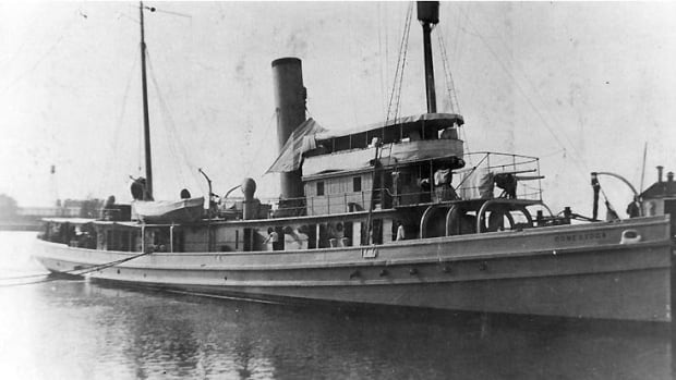 The USS Conestoga left San Francisco Bay for Pearl Harbor in March 1921. But the boat never made it to Hawaii, and her 56-man crew was declared lost.