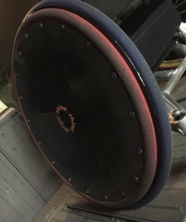 Byron Green stolen wheel