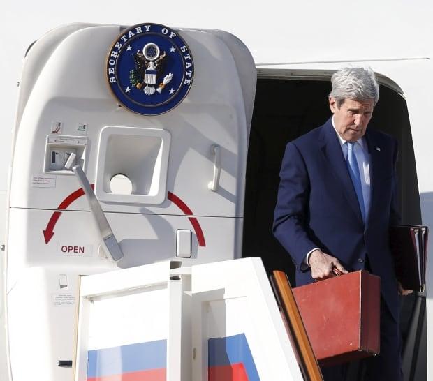 John Kerry-Moscow