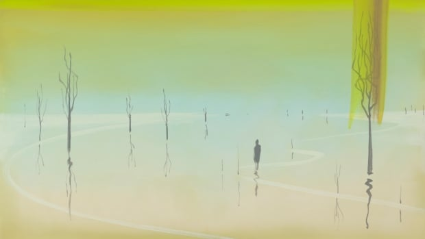 This original Wanda Koop painting is part of an Art City raffle. The winner will be announced May 2.