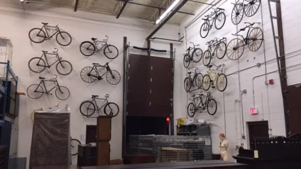 Bicycles from Canada Science and Technology Museum's collection will be moved to a state of the art storage facility.