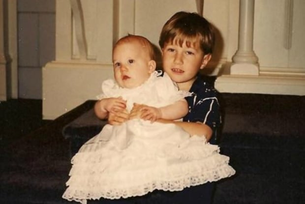Michael Dunahee and sister Caitlin